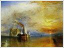 複製画 送料無料 プレミアム 学割 絵画 油彩画 油絵 複製画 模写ウィリアム・ターナー「解体されるために最後の停泊地に曳かれてゆく戦艦テメレール号」 F12(60.6×50.0cm)サイズ プレゼント ギフト 贈り物 名画 オーダーメイド 額付き