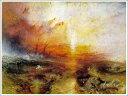 複製画 送料無料 プレミアム 学割 絵画 油彩画 油絵 複製画 模写 ウィリアム・ターナー「死人と死に瀕した人を船外に投げ込む奴隷船」 F6(41.0×31.8cm)サイズ プレゼント ギフト 贈り物 名画 オーダーメイド 額付き