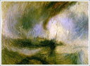 複製画 送料無料 プレミアム 学割 絵画 油彩画 油絵 複製画 模写ウィリアム・ターナー「吹雪」 F12(60.6×50.0cm)サイズ プレゼント ギフト 贈り物 名画 オーダーメイド 額付き