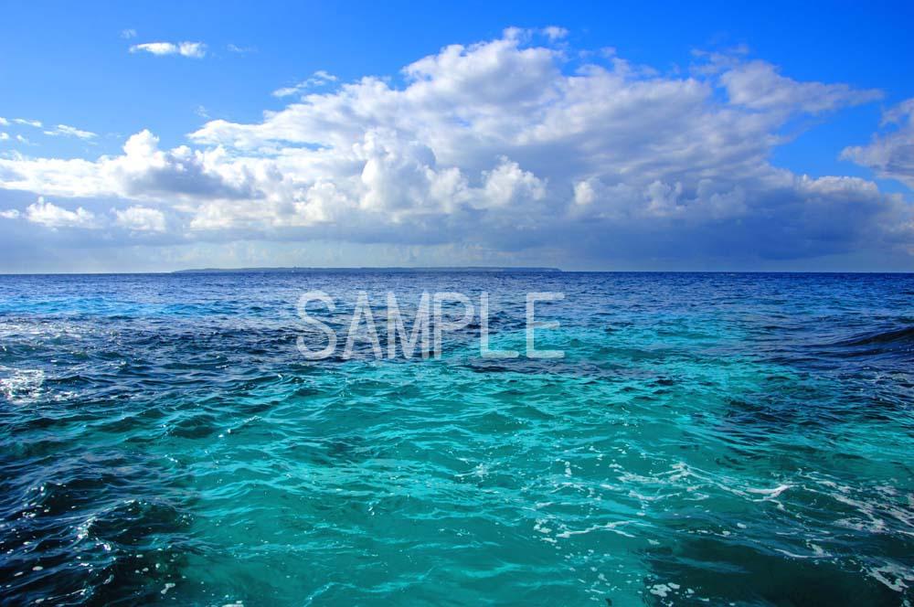 沖縄 北大東島の海 2LW写真  2LW-16