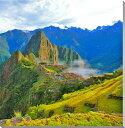 世界遺産 天空のマチュピチュ 風景写真パネル