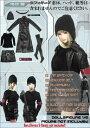 ドールズフィギュア cc98 1/6フィギュア用衣装 黒のロングコートセット (DOLLSFIGURE CC98)