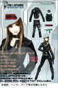 ドールズフィギュア cc91 1/6フィギュア用衣装 女性救護兵 アーミーガール 軍服 ブラックユニフォーム(DOLLSFIGURE CC91)