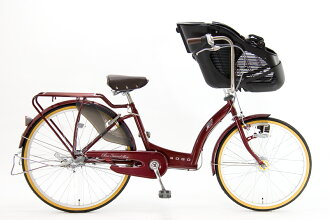 BAA three children ride bicycles SOGO チヤオフレンドスパーハイデラックス CHF26B SHDX G3J (outright with a three-stage variable speed LED) ( toddler two passenger vehicles conforming to standards )