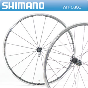 Shimano WH-6800 ULTEGRA 6800 before and after the kanji set wheel