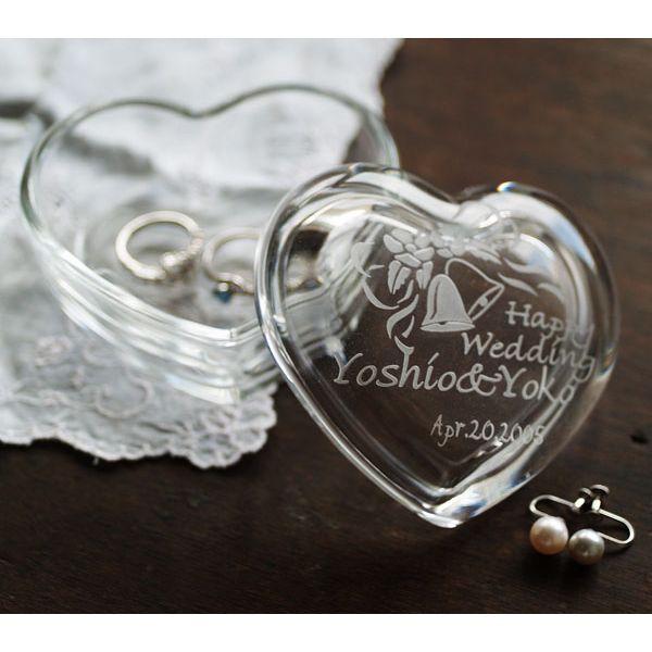 【名入れ無料】御結婚の記念にガラスケースの贈り物...の商品画像