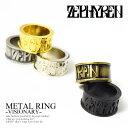 ZEPHYREN(ゼファレン) METAL RING -VISIONARY- zea2562【メンズ リング 指輪】【メール便可】ストリート