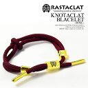 RASTACLAT ラスタクラット KNOTACRAT BRACELET -ROSE- メンズ レディース アクセサリー ブレスレット シューレース カリフォルニア 西海岸 おしゃれ かっこいい ストリート メール便可