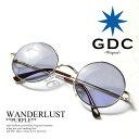 GDC ジーディーシー WANDERLUST gdc メンズ レディース 眼鏡 サングラス 丸メガネ wanderlust ストリート系 ファッション おしゃれ 丸眼鏡 丸めがね めがね ARTIF シルバー フレーム アクセサリー メンズファッション| カラーレンズ 伊達メガネ だてめがね 伊達眼鏡 丸型