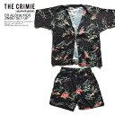 楽天ARTIF50%OFF SALE セール CRIMIE クライミー CR ALOHA KIDS JINBEI SET UP キッズ 甚平 セットアップ 送料無料 ストリート