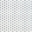 三角眼シート 20枚組 ケント紙 縦長B3判 【平面構成シート 造形表現】