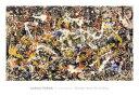 【アートポスター】Convergence(710×1020mm) -ポロック-