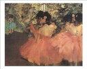 【アートポスター】赤い踊り子(40cm×50cm) -ドガ-