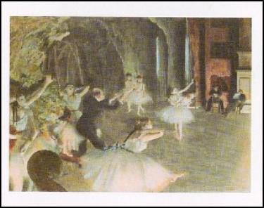 【アートポスター】バレーの舞台稽古(60cm×8...の商品画像