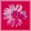 【アートポスター】デイジー1982年(クリムゾンとピンク) 915mm×915mm -ウォーホル-