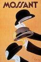 【アートポスター】Mossant, 1938(610×900mm) -ビンテージデザイン-