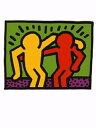 【アートポスター】相棒1990年(30cm×40cm) -キース・へリング-