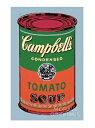【アンディ・ウォーホル ポスター】キャンベルスープ缶 1965年(緑と赤)(281×358mm)