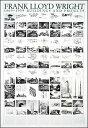 フランク・ロイド・ライト:建築と計画(70cm×100cm)