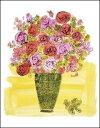 【アートポスター】(Stamped) Basket of Flowers,1958(457×556mm) -ウォーホル-