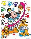 【ディズニーポスター】ミッキーマウスの色塗り(406mm×508mm)