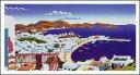 【マックナイト】 ミコノス島の全景(509×959mm)