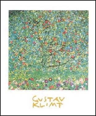 【アートポスター】りんごの木 (50cm×70cm) -クリムト-