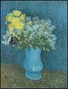 【アートポスター】ライラック、マグノリア、アネモネの花瓶 (60cm×80cm) -ゴッホ-