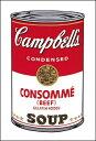б┌евб╝е╚е▌е╣е┐б╝б█Campbell's Soup I: Consomme, 1968(331б▀480mm) -ежейб╝е█еы-