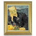 ゴッホ 医師ガシェの肖像 F8 【油絵 直筆仕上げ 複製画】【額縁付】 絵画 販売 8号 油彩 人物画 598×524mm 送料無料