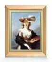 ヴィジェ・ルブラン 自画像 F6 【油絵 直筆仕上げ 複製画】【額縁付】 絵画 販売 6号 油彩 人物画 556×465mm 送料無料