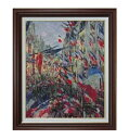 クロード・モネ サン=ドニ通り、1878年6月30日の祝日 F15 【油絵 直筆仕上げ 複製画】【