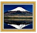 富士山(3) F20サイズ 【油絵 直筆仕上げ】【額縁付】 油彩 風景画 オリジナルインテリア絵画 風水画 ゴールド額縁他各種 887×766mm 送料無料