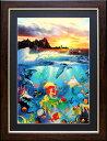 ラッセン ディズニー ポスター「リトル・マーメイド/アンダー・ザ・シー」アリエル アート 絵画 インテリア Disney