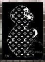 LOUIS VUITTON - 絵画 インテリア ブランドオマージュアート/スターデザイン「ビジョア×ルイ・ヴィトン/LV Child(S)」A1ポスター