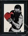 絵画 インテリア ブランドオマージュアート/スターデザイン「マイク・タイソン×ルイ・ヴィトン」A4ポスター