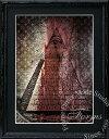LOUIS VUITTON - 絵画 インテリア ブランドオマージュアート/スターデザイン「フリーメイソン×ルイ・ヴィトンc」A4ポスター