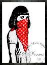 絵画 インテリア ブランドオマージュアート/スターデザイン「Dolk/キティ・ライオット×ルイ・ヴィ...
