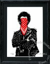絵画 インテリア ブランドオマージュアート/スターデザイン「Dolk/シド・ヴィシャス×ルイ・ヴィトン」A4ポスター