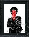 絵画 インテリア ブランドオマージュアート/スターデザイン「Dolk/シド・ヴィシャス×ルイ・ヴィトン/シュプリーム」A4ポスター