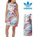 adidas originals ワンピース 夏 半袖 アディダス オリジナルス レディース タンクドレス ワンピース タンクトップ bj8364 レディース