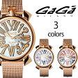 GAGA MILANO メンズ レディース ガガミラノ 腕時計 スリム 46mm 5081シリーズ [海外正規店商品][送料無料]