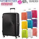ショッピングサムソナイト サムソナイト アメリカンツーリスター スーツケース lサイズ 大型 大容量 TSAロック ダブルホイール キャリーケース キャリーバッグ サウンドボックス 77cm エキスパンダブル 容量拡大 32G*003
