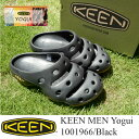 KEEN MEN Yogui 1001966/Black