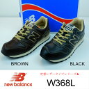 new balance W368L BLACK.BROWN ...