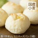 ミニチーズパン(5個)北海道産小麦