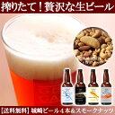 【お歳暮】城崎温泉の地ビール クラフトビール 燻製ナッツ おつまみセット ギフト【送料無料】