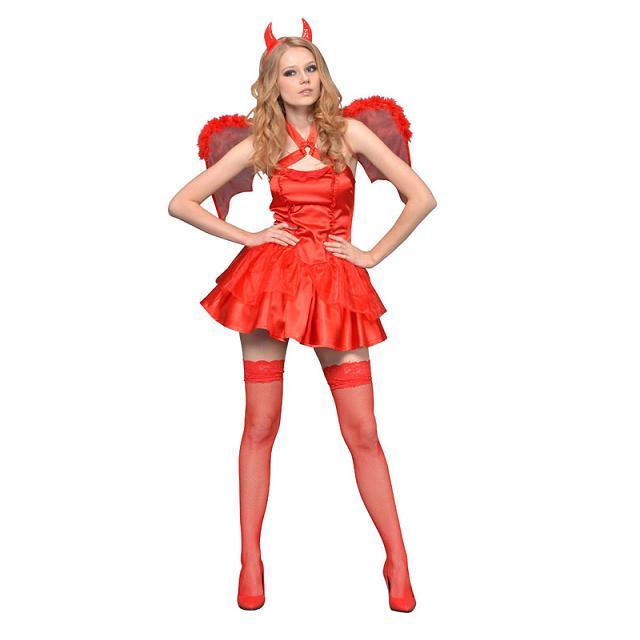 送料無料 レッドデビル(赤い悪魔) NEW YORK WISH 大人用 女性用 仮装 コスチューム 大人 コスプレ 衣装