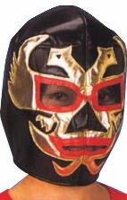 リングファイター ブラック プロレスマスク おもしろグッズ パーティグッズ...:arune:10013259