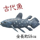 送料無料 メガシーラカンス 巨大生物標本シリーズ いたずらグッズ 巨大魚 生きた化石 パーティーグッズ おもちゃ いたずら